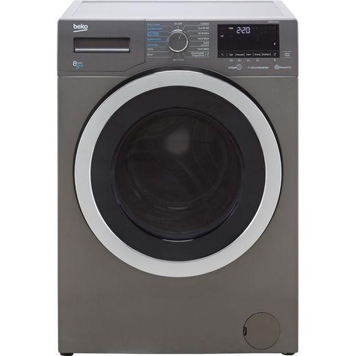 Beko WDER8540441G Washer Dryer - Graphite