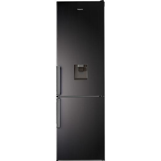 Hotpoint H7T911AKSHAQUA1 60/40 Frost Free Fridge Freezer - Black - F Rated