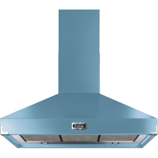 Falcon FHDSE1000CA/N 100 cm Chimney Cooker Hood - China Blue - A Rated