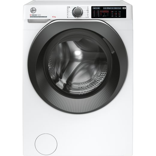 Hoover H-WASH 500 HWD610AMBC/1 Wifi Connected 10Kg Washing Machine with 1600 rpm - White - A Rated