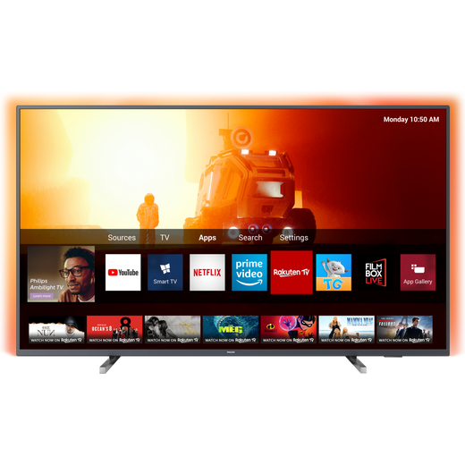 "Philips 50PUS7805 50"" Smart Ambilight 4K Ultra HD TV"