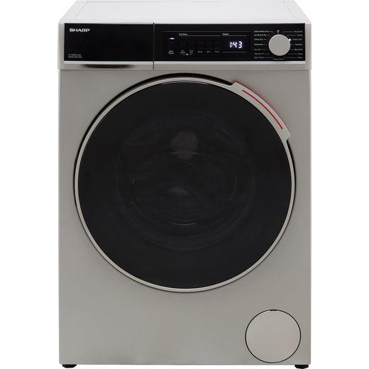 Sharp ES-NDB8144SD-EN Washer Dryer - Silver