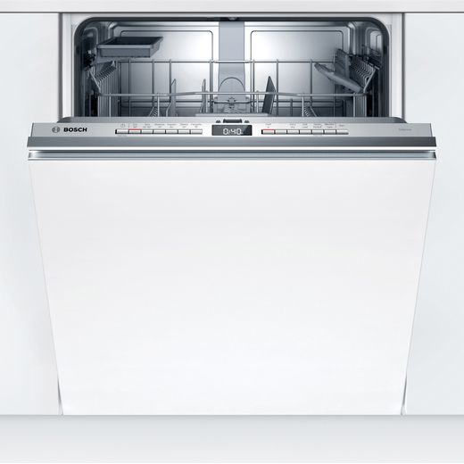Bosch Serie 4 SGV4HAX40G Fully Integrated Standard Dishwasher - Stainless Steel Control Panel - D Rated
