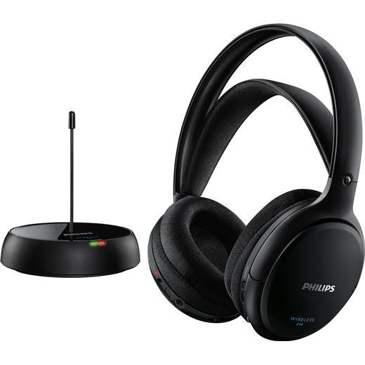 Philips Hi-Fi Over-Ear Wireless Headphones - Black