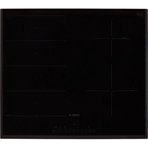 Bosch Serie 6 PXE651FC1E 59cm Induction Hob - Black