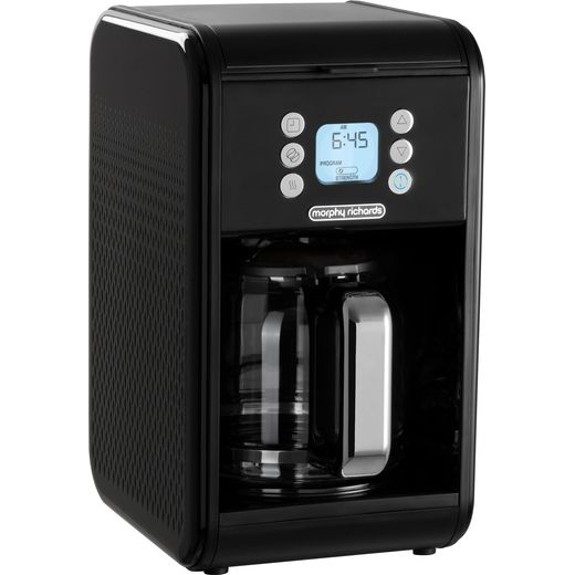 Morphy Richards Verve 163005 Filter Coffee Machine with Timer - Black