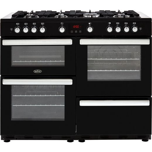 Belling Cookcentre110G 110cm Gas Range Cooker - Black - A/A Rated