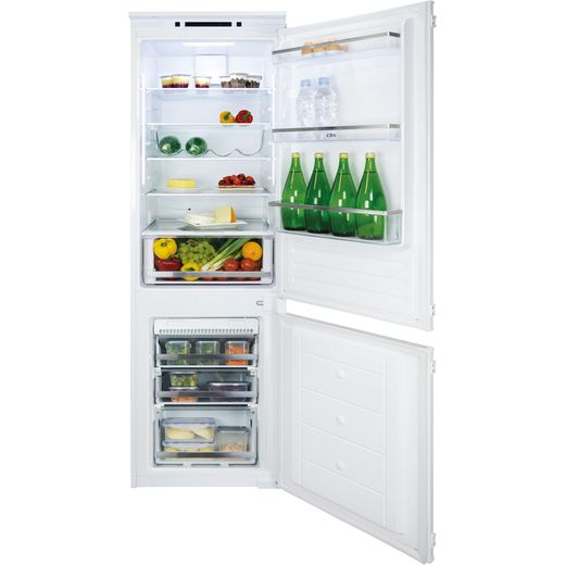 CDA FW927 Integrated 70/30 Frost Free Fridge Freezer with Sliding Door Fixing Kit - White - F Rated