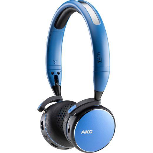 AKG Y400 Over-Ear Wireless Bluetooth Headphones - Blue
