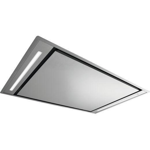 De Dietrich DHL7173X 110 cm Ceiling Cooker Hood - Platinum - A Rated