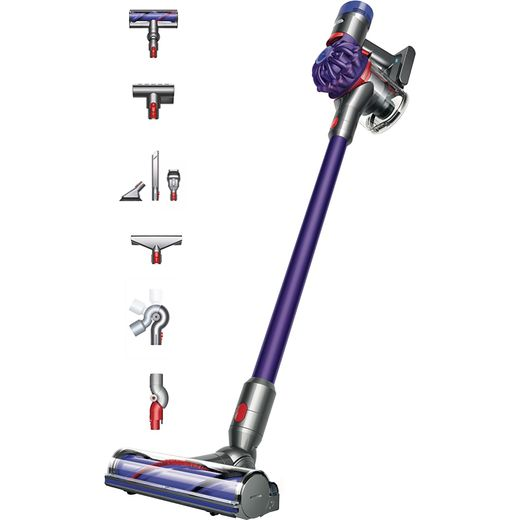 Dyson V7 Animal Extra Cordless Vacuum Cleaner with up to 30 Minutes Run Time