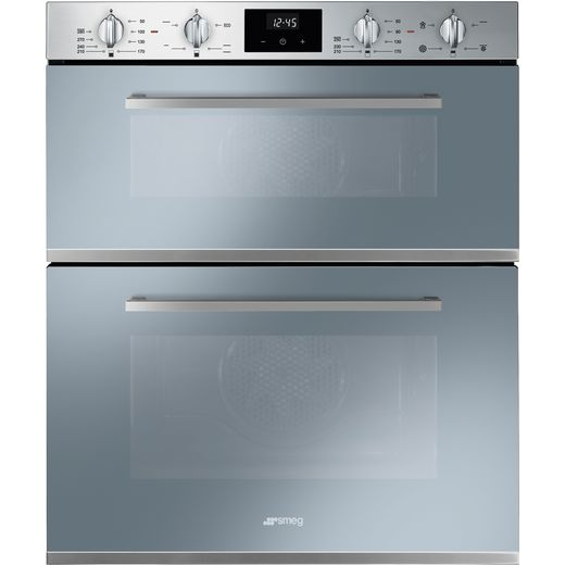 Smeg Cucina DUSF400S Built Under Electric Double Oven - Stainless Steel