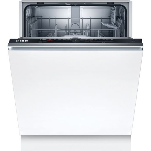 Bosch Serie 2 SMV2ITX18G Wifi Connected Fully Integrated Standard Dishwasher - Black Control Panel - A+ Rated