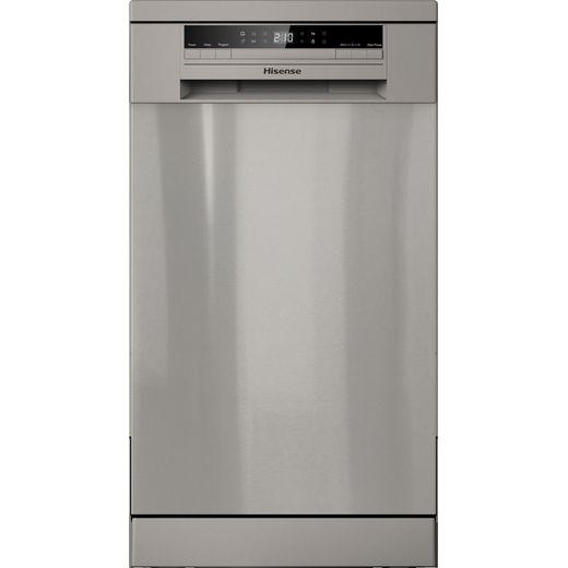 Hisense HS520E40XUK Slimline Dishwasher - Stainless Steel - E Rated