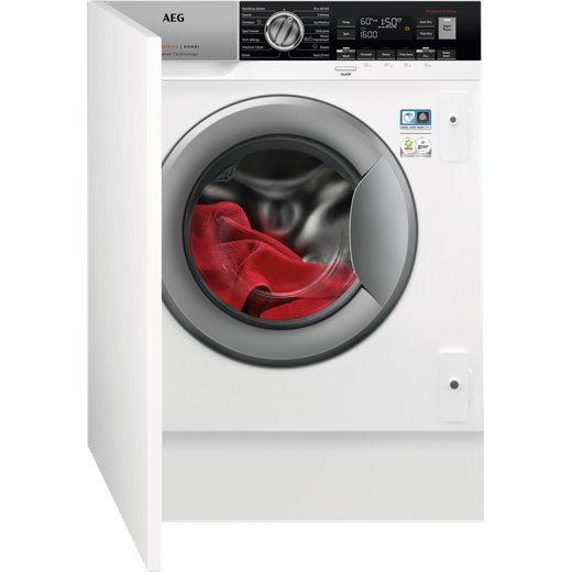 AEG L7WC8632BI Integrated 8Kg / 4Kg Washer Dryer with 1600 rpm - White - E Rated