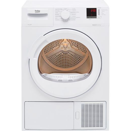 Beko DTLP71151W 7Kg Heat Pump Tumble Dryer - White - A+ Rated
