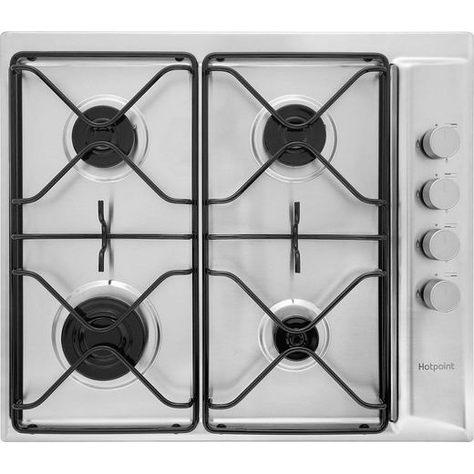 Hotpoint Newstyle PAN642IXH 58cm Gas Hob - Stainless Steel