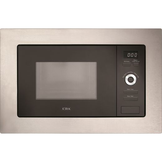 CDA VM551SS Built In Microwave - Stainless Steel