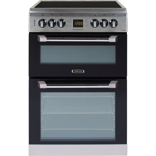 Leisure Cuisinemaster CS60CRX 60cm Electric Cooker with Ceramic Hob - Stainless Steel - A/A Rated