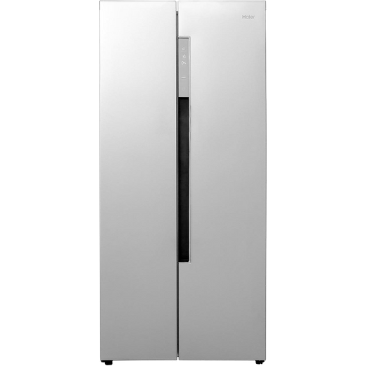 Haier HRF-450DS6 American Fridge Freezer - Silver
