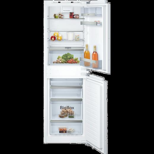 NEFF N70 KI7853DE0G Integrated 50/50 Frost Free Fridge Freezer with Fixed Door Fixing Kit - White - E Rated