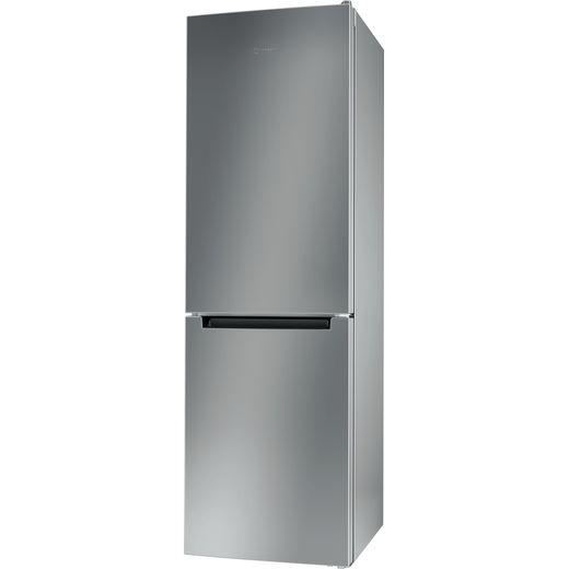 Indesit LI8S1ESUK 60/40 Fridge Freezer - Silver