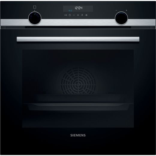 Siemens IQ-500 HB578G5S6B Wifi Connected Built In Electric Single Oven - Stainless Steel - A Rated