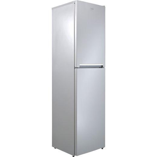 Beko CFG1501S 60/40 Frost Free Fridge Freezer - Silver - F Rated