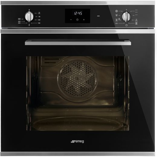 Smeg Cucina SF6400TVN Built In Electric Single Oven - Black - A Rated