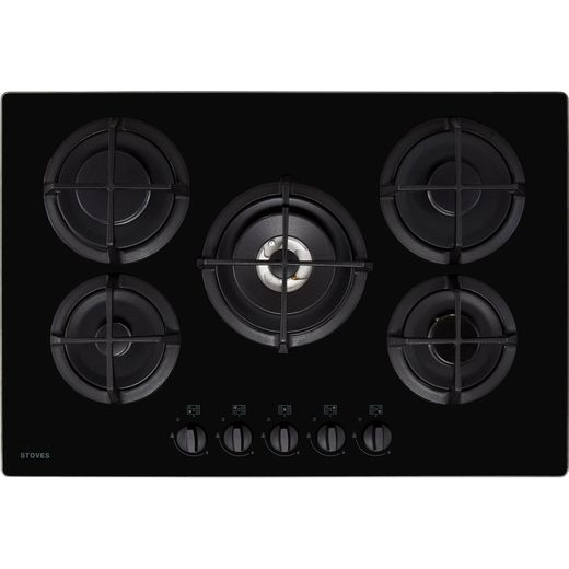 Stoves ST GTG75C Built In Gas Hob - Black