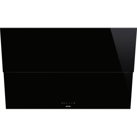 Smeg Dolce Stil Novo KSVV90NX 90 cm Chimney Cooker Hood - Black / Stainless Steel - A Rated