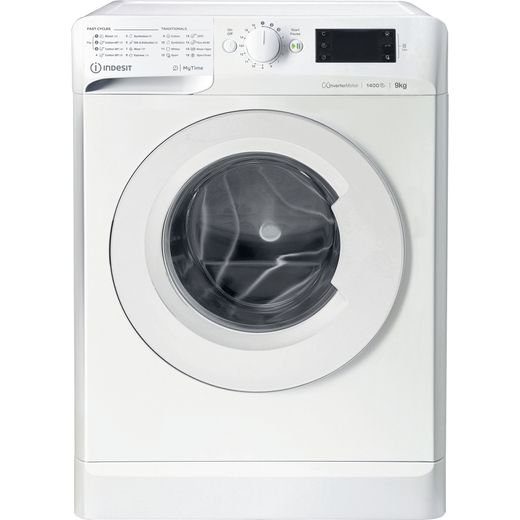 Indesit My Time MTWE91484WUK 9Kg Washing Machine with 1400 rpm - White - C Rated