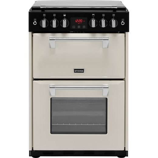 Stoves Richmond600G 60cm Gas Cooker with Full Width Electric Grill - Cream - A+/A Rated