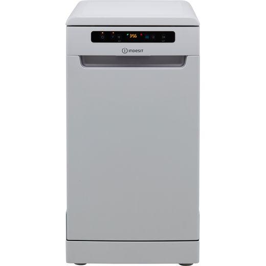 Indesit DSFO3T224ZUKN Slimline Dishwasher - White - E Rated