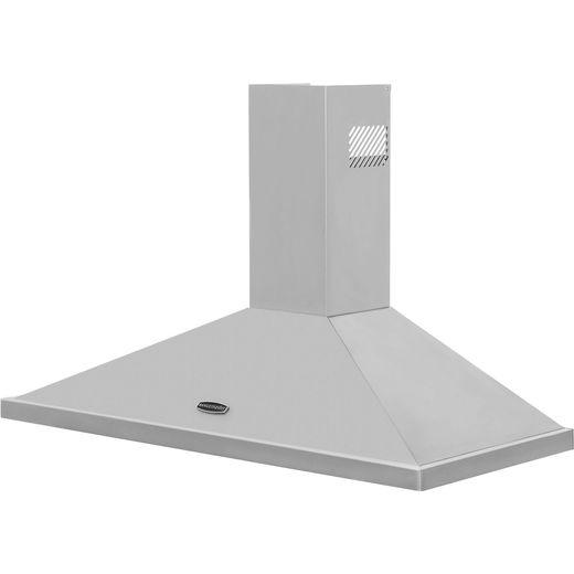 Rangemaster LEIHDC110SC 110 cm Chimney Cooker Hood - Stainless Steel - B Rated