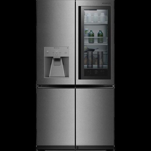 LG SIGNATURE InstaView Door-in-Door™ LSR100 American Fridge Freezer - Stainless Steel