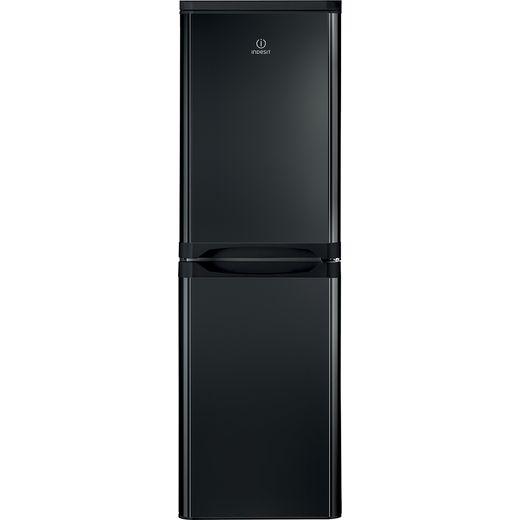 Indesit IBD5517BUK1 50/50 Fridge Freezer - Black - F Rated