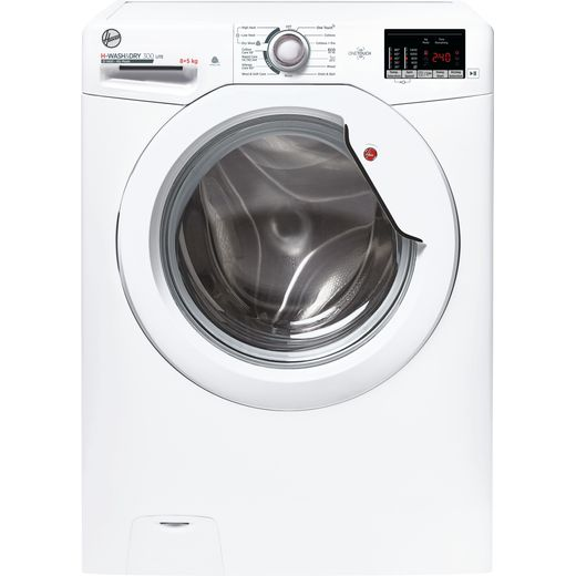 Hoover H-WASH&DRY 300 H3D4852DE 8Kg / 5Kg Washer Dryer with 1400 rpm - White - E Rated