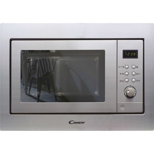Candy MICG201BUK Built In Microwave With Grill - Stainless Steel