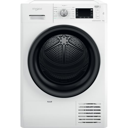 Whirlpool FFTM229X2BUK 9Kg Heat Pump Tumble Dryer - White - A++ Rated
