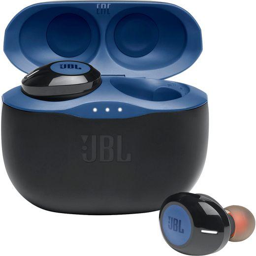 JBL Tune 125TWS In-Ear Bluetooth Headphones - Blue