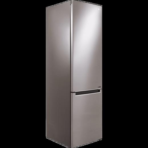 LG GBB72PZEFN 60/40 Frost Free Fridge Freezer - Steel - D Rated