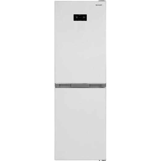 Sharp SJ-BA33DHXWE-EN Fridge Freezer - White