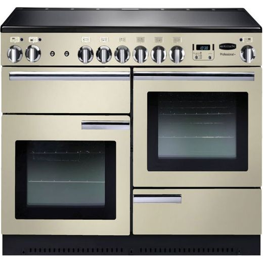 Rangemaster Professional Plus PROP110EICR/C 110cm Electric Range Cooker with Induction Hob - Cream - A/A Rated
