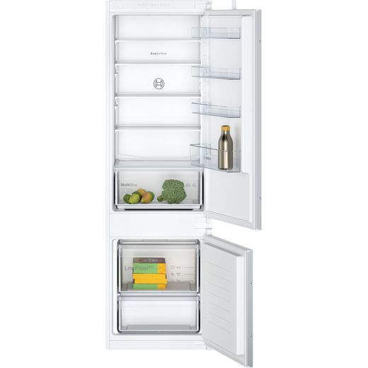 Bosch Serie 2 KIV87NSF0G Built In Fridge Freezer - White