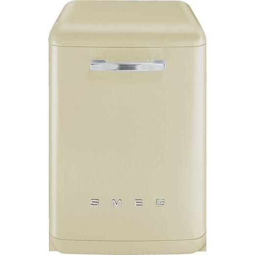 Smeg DFFABCR Standard Dishwasher - Cream - B Rated