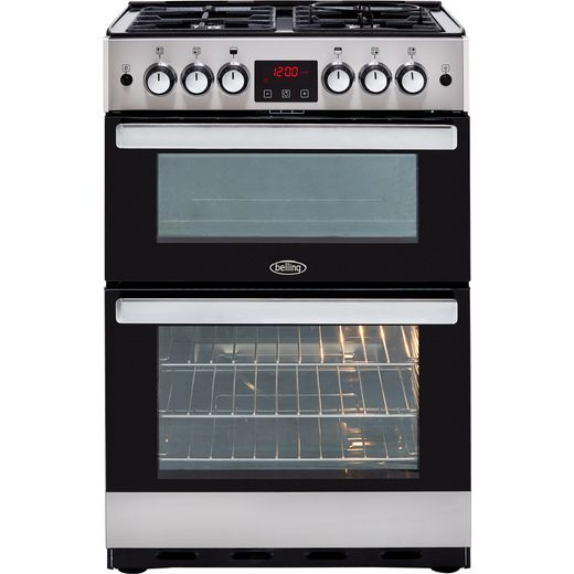 Belling Cookcentre 60G Gas Cooker - Stainless Steel