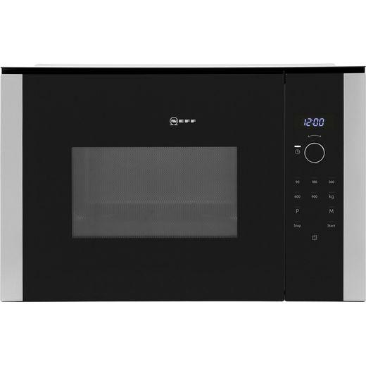NEFF N50 HLAWD53N0B Built In Microwave - Black
