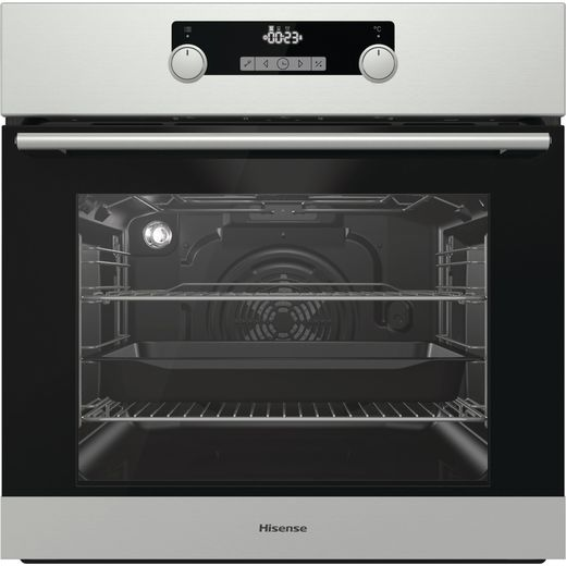 Hisense BI3221AXUK Built In Electric Single Oven - Stainless Steel
