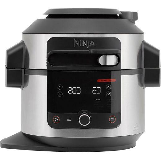 Ninja Foodi 11-in-1 SmartLid OL550UK 6 Litre Multi Cooker - Stainless Steel / Black